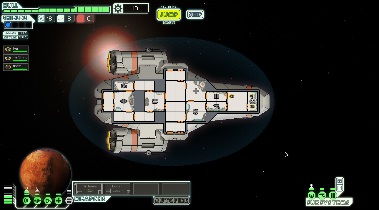 Aaahh a new beginning in FTL. Will it be death once more